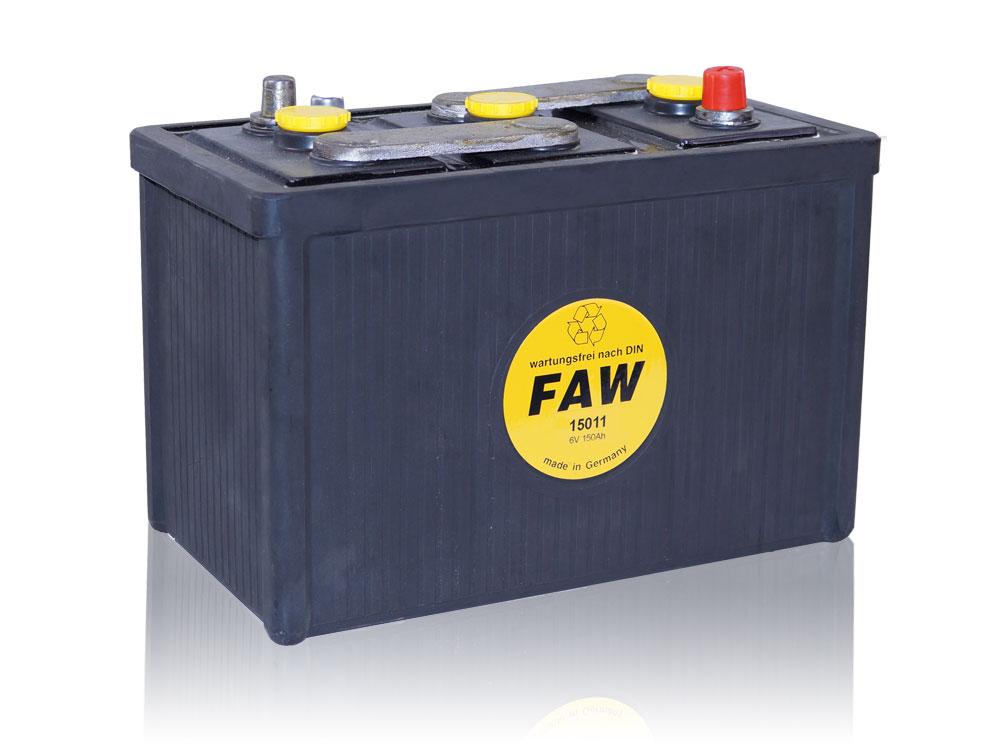 Hartgummibatterie 15011