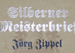 silberner Meisterbrief Teil2