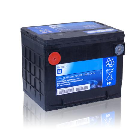 Batterie US Genuine GM 12V 54Ah