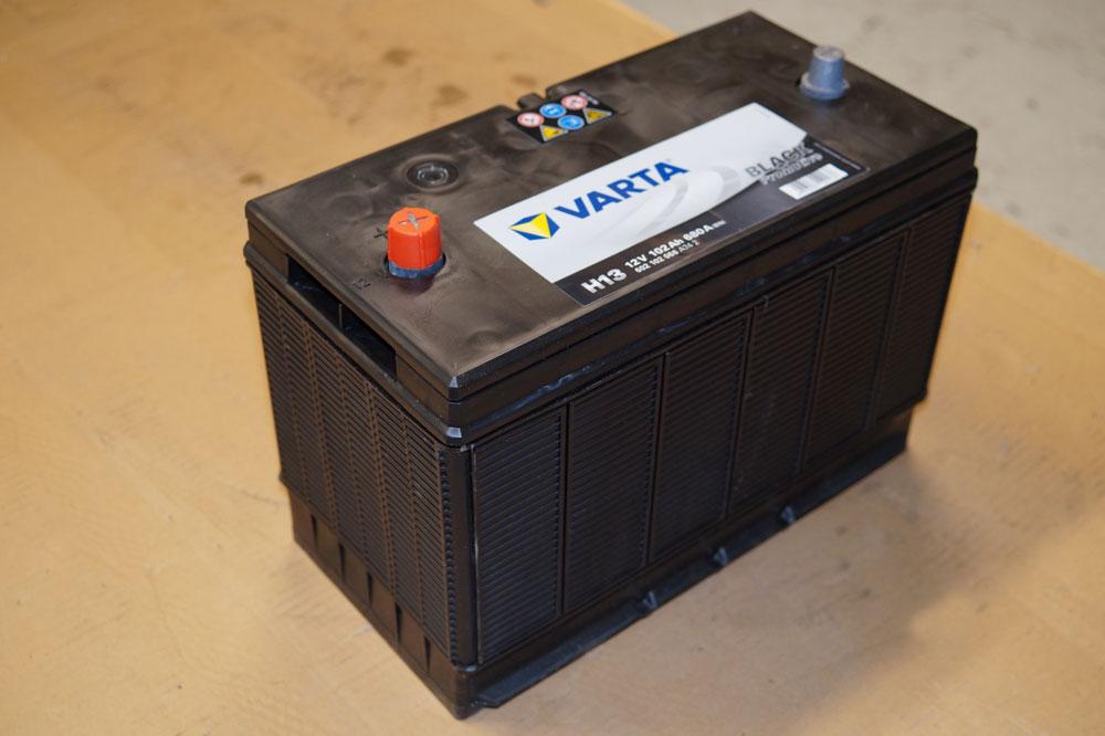 Varta Batterie baugleich Vetus Marine