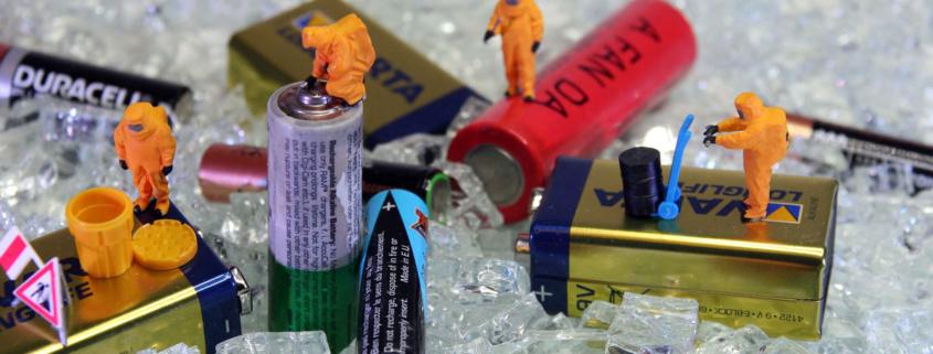 So geht Sortenreine Batterie-Entsorgung